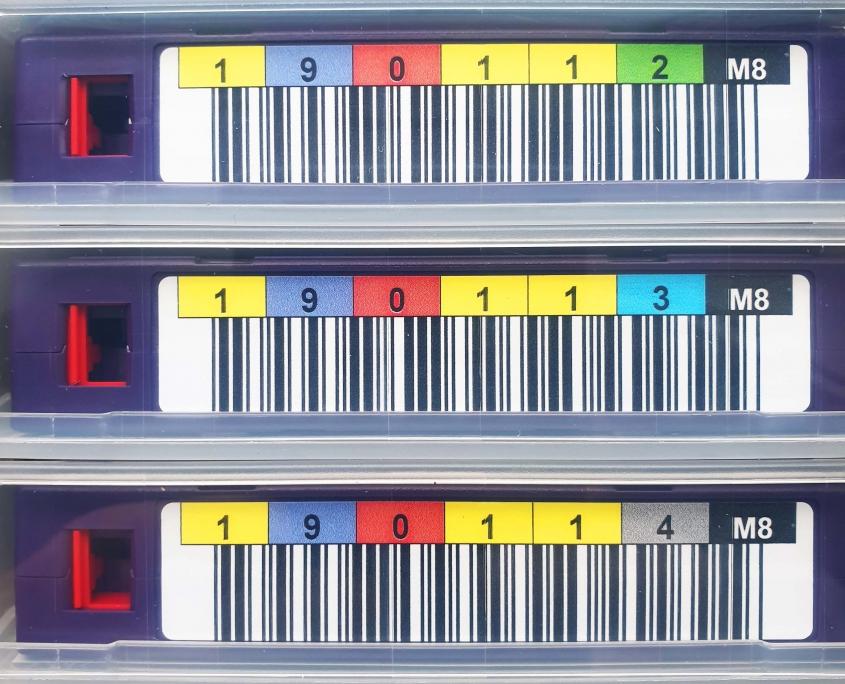 Fujifilm Taśmy LTO7 Typ M z etykietami M8